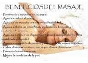 SERVICIO DE MASAJE RELAJANTE
