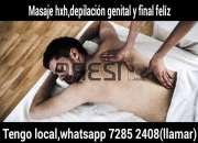 Doy depilación genital y masaje deportivo con masturbación y sexo oral,7285 2408,vivo solo